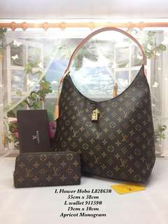 Lv set with purse