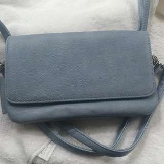 Fx Leather Hangbag