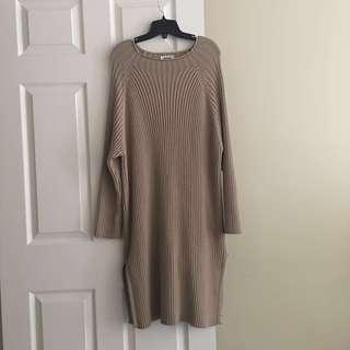 Korea💕beige long dress