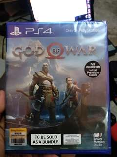 New God of War 4 (seal) + ps plus (3 month) + dlc