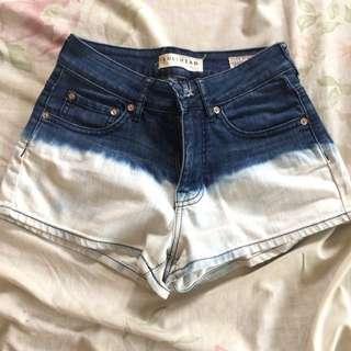 Denim high waist shorts (SALE)