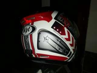 Helm kyt doble visor