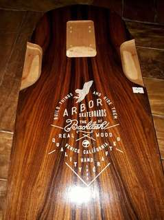 Longboard Deck - Arbor Backlash 37