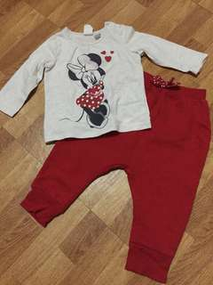 Minnie mouse jogging pants terno