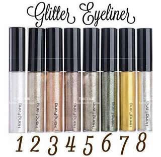 gliter eyeliner