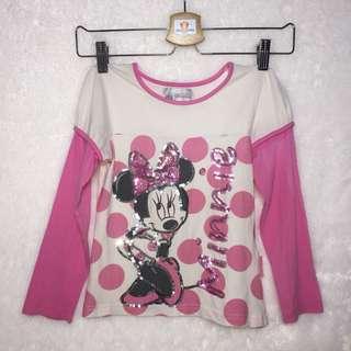 Preloved Baju Minnie ori Disneyland