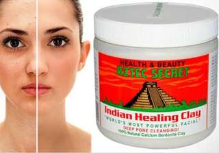World's Most Powerful Facial Indian Clay for deep pore cleansing for all skin types
