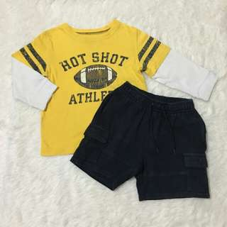 Preloved Baby Boy Clothes Set