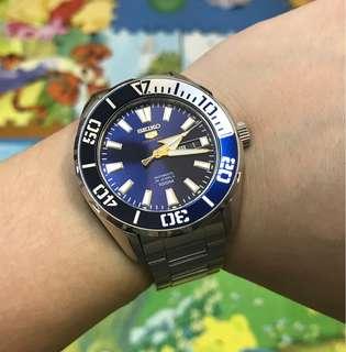 90%NEW SEIKO 5 SPORTS 全自動大裝 淨錶 $888
