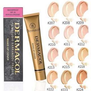 Authentic Dermacol Makeup Cover shade 209