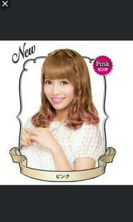 HAIR COLOR PALTY pink temporary