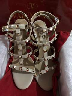 Valentino rock studs shoes