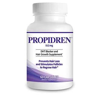 [IN-STOCK] Propidren by HairGenics - DHT Blocker with Saw Palmetto To Prevent Hair Loss and Stimulate Hair Follicles - Stop Hair Loss and Regrow Hair