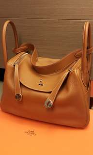 Hermes Lindy 34 gold phw 99new