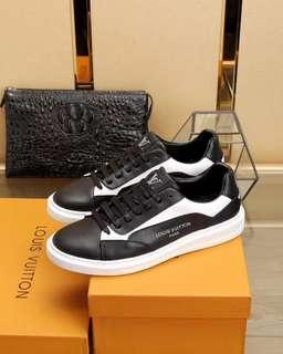 Sepatu Lv Pria Sneakers Mirror Quality