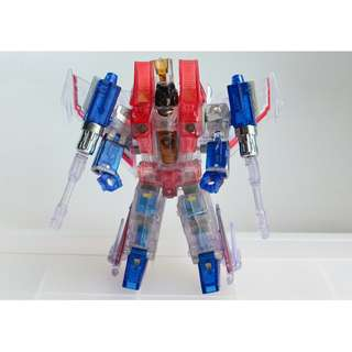 TRANSFORMERS TAKARA TOMY HENKEI GHOST STARSCREAM DELUXE CLASS