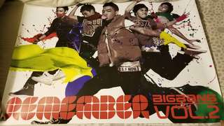 BIGBANG Poster Remember Vol 2 23cm x 77cm
