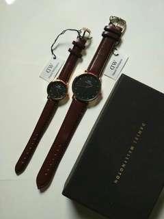 Jam tangan Daniel Wellington couple