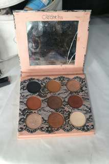 Beauty creation eyeshadow boudoir
