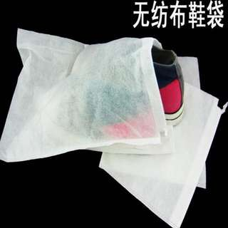 3pcs For RM10 !!  27*35cm Non Woven Shoes Dust Bags Drawstring Storage Jewellery Accessories Bag