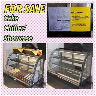 Cake showcase chiller
