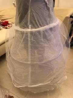 婚紗禮服降紗