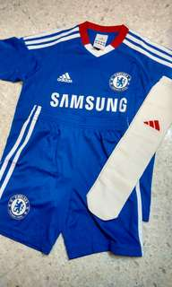 Chelsea Adidas Kids Home Kit Jersey Full Set 2010-2011 Original