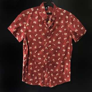 Floral Polo Short Sleeves