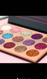 Ready!!  glitter beauty glazed eyeshadow