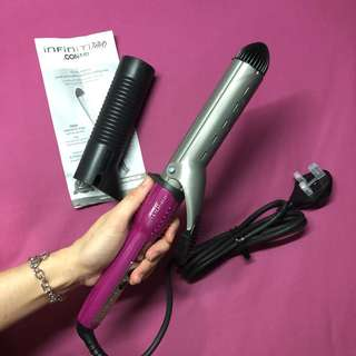 Curling iron for large curls