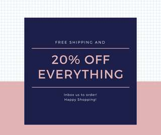 Take 20% OFF the listed price! Hooray!