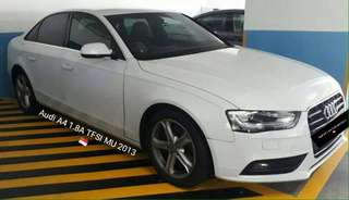 2013 Audi A4 1.8 TFSI MU / TURBOCHARGED ENGINE / READ DESCRIPTION BELOW / REG SING 🇸🇬