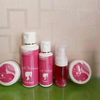 Cream syantik whitening