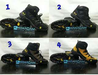 Sepatu jack wolfskin hiking tracking jws outdoor