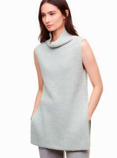 Wilfred Free GREEN Durandal Sleeveless Sweater
