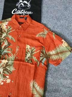 van heusen hawaiian shirt