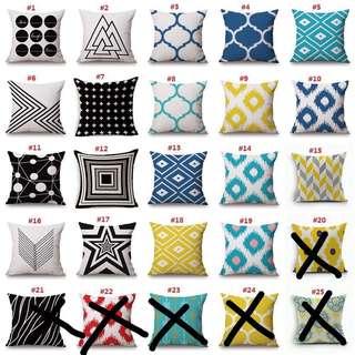 Retro style cushion cover