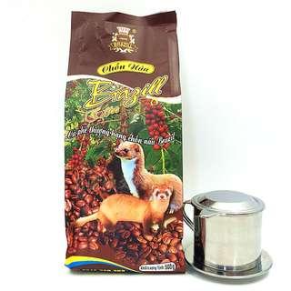 🚚 送滴杯越南特產黑咖啡BRAIZILL 麝香貂 貓屎咖啡粉