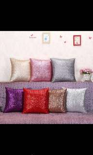 Sequins Glitter Cushion Cover