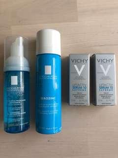 LA ROCHE POSAY + VICHY bundle