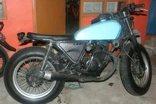 Jual motor custom basic gl 145 + twin