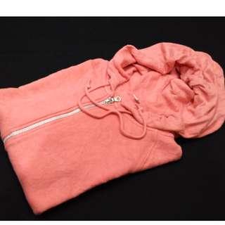 Zip Hoodie Uniqlo Pink
