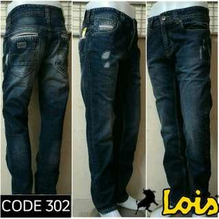 LOIS JEANS ORIGINAL - celana panjang pria standart CFS 302