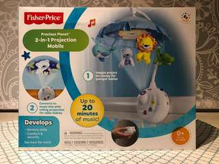 Fisher Price 2+1 Projection Mobile