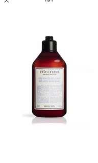 L'occitane shower gel aromachologie