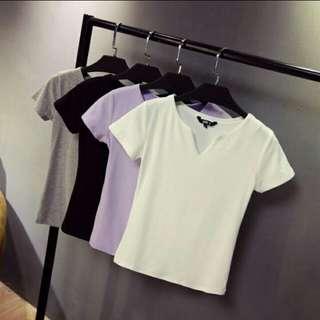 t-shirt ovneck
