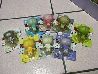 🚚 麥當勞Hello Kitty 玩具組