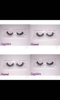 5 PAIRS OF LASHES FOR $25