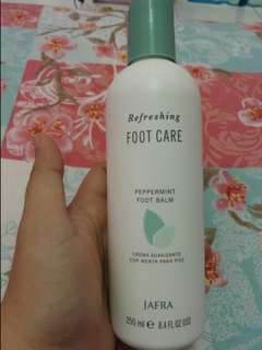 Jafra foot care