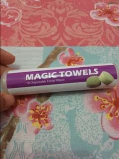 Magic towels by JAFRA